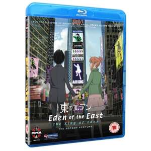 Eden Of The East Movie 1 King Of Eden Blu-ray / Eden Of The East Movie 2 Paradise Lost Blu-ray £3.59 each delivered @ 365 Games