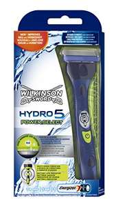 Shave and Save!  Wilkinson Sword Hydro 5 Power Select + 8 Blades £15 at Amazon (Prime Exclusive)