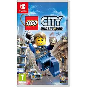LEGO city undercover - Nintendo Switch @ 365games for £21.59