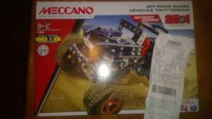 Meccano off the road 25 in 1 £9.95 @ Tesco