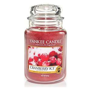 Yankee Candle Large Jar - Cranberry Ice £9.99 Prime / £13.98 delivered @ Amazon