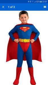 Classic Superman Dress Up Outfit - 5-6 Years -From the Argos Shop on ebay £5.99