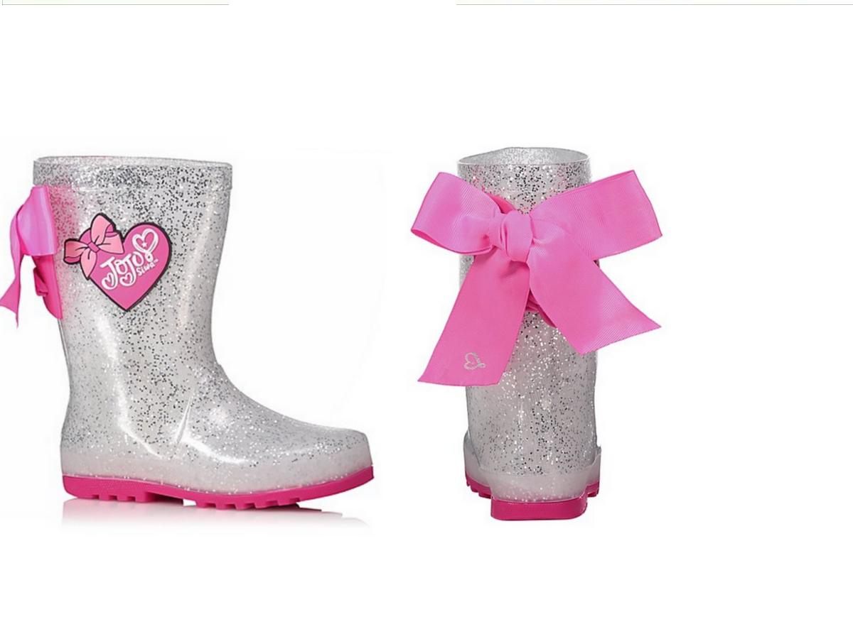 JoJo Siwa Glitter Wellington Boots £11.00 C&C at Asda George (stock going fast)