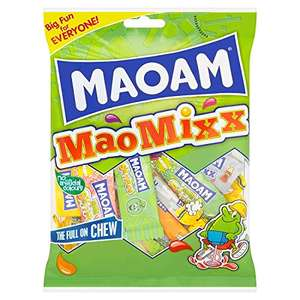 Maoam MaoMixx, 140 g, Pack of 12 £5.08 Prime @ Amazon
