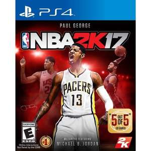 Asda/George game deal for NBA 2k17 for £5 instore