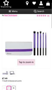 Real techniques ultimate eye brush set £7.49 @ Superdrug
