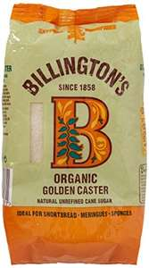 Billingtons Organic Caster Sugar 500g Pack of 10 (Pantry orders only) £2.05 @ Amazon