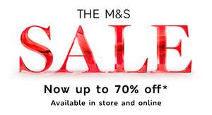 The M&S sale – now up to 70% off – available in store and online