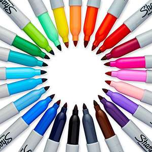 Sharpie Coloured Permanent Markers 12 pack £5 @ amazon - add on item