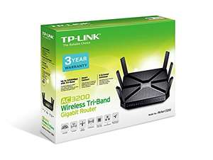 Gigabit Wireless Router TP-Link AC3200  £99.98 Amazon