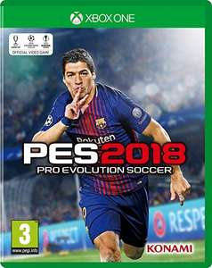 Pes 2018 Xbox one back in stock at Tesco for £15