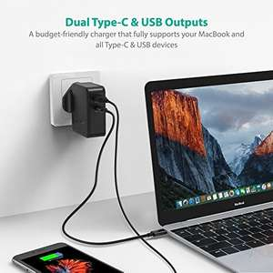 RAVPower iPhone X/8 etc.. PD Fast Charger £12.99 (Prime) / £16.98 (non Prime) Sold by Sunvalleytek-UK and Fulfilled by Amazon