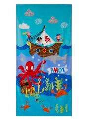 Pirate pirate themed beach towel was £7 NOW £4 @ asda George,free click & collect