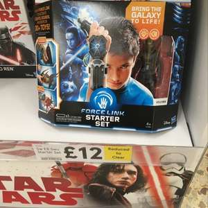 Star war force link £12 at Tesco instore