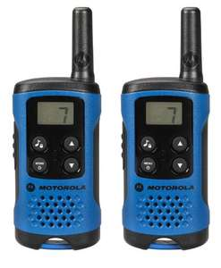 Motorola T41 walkie talkie radios. £24.99 delivered @ amazon