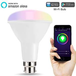 Lightning Deal on Colour LED Smart Bulb, Can be controlled by smart phone - £21.59 @ Sold by LED-365BUY and Fulfilled by Amazon.(Lightning Deal)