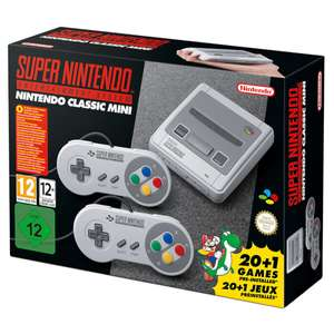 Nintendo SNES Classic mini: Now in stock £69.99 at Nintendo store