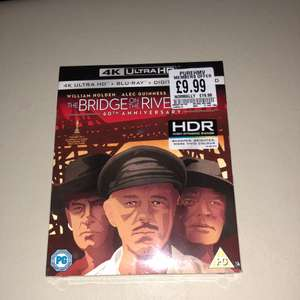 The bridge on the river kwai 4k uhd £9.99 instore @ hmv pure members only