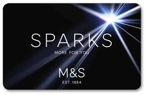 M&S Sparks Birthday Bonus, 20% off clothing, beauty and homeware 10% off food and flowers.