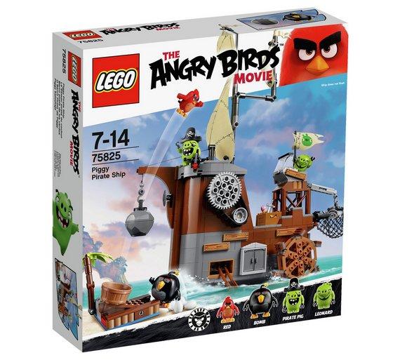 LEGO Angry Birds Piggy Pirate Ship - 75825 £29.99 @ Argos