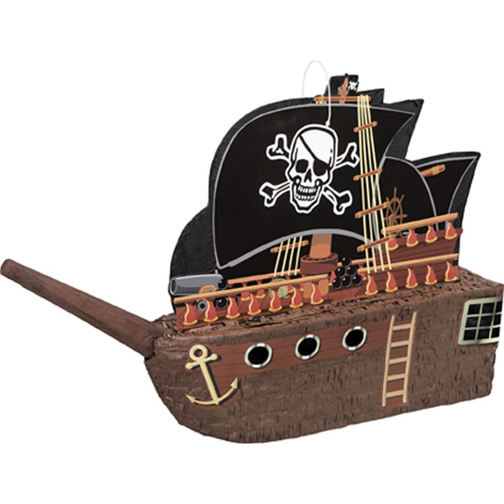 Pirate Ship Pinata £7.50 C+C @ Wilko (Star Wars Kylo Ren 3D Pinata £10)