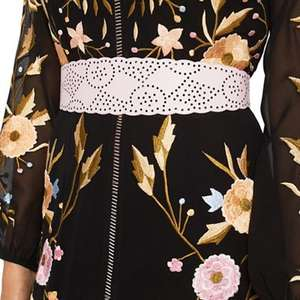Miss Selfridge - Laser cut belt @ Debenhams Was £18 Now £2 Free del with code