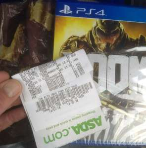 Doom PS4 £3 @ Asda - Forfar