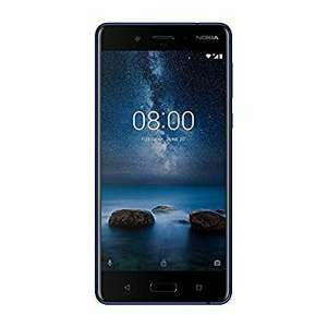 Nokia 8 blue dual sim, €376.99 - £335 @ amazon.es