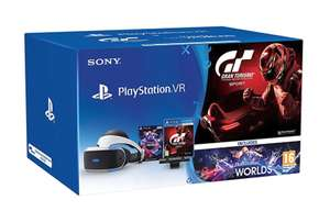 Amazon Italy - PSVR (V2?) starter pack with GT Sport £306.93