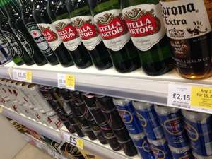 Any 3 Cider/Ale/Beers for £5.25 @ Tesco