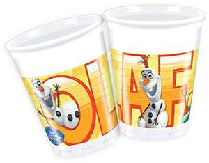 200ml Disney Frozen Plastic Cups,Pack of 8 £0.16p @ Amazon (Add on item)