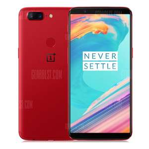 OnePlus 5T 4G Phablet 8GB RAM International Version - RED £413.97 @ Gearbest