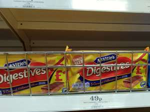 McVities Digestive cakes 49p in store at Homebargains