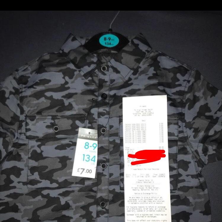 Primark Boys Shirt £1