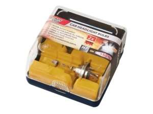 H4 & H7 Car Headlight Bulbs - £4.99 pack of 2 or £8 for 2 packs @ Lidl