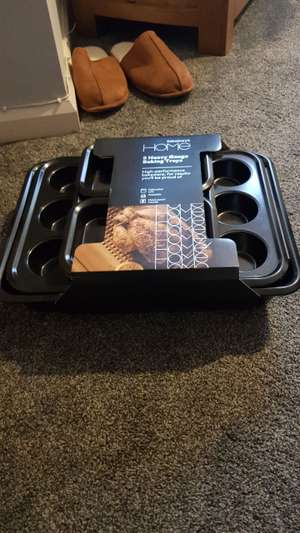 5 baking trays set instore at Sainsbury's from £40 Now £16