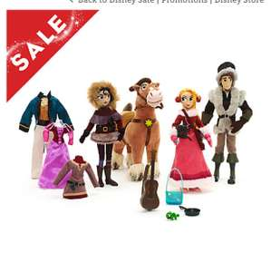Disney store tangled deluxe doll set £27 with discount / £30.95 delivered