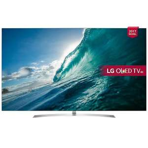 "LG 65B7V 4K OLED 65"" TV £2398 at Vaughans"