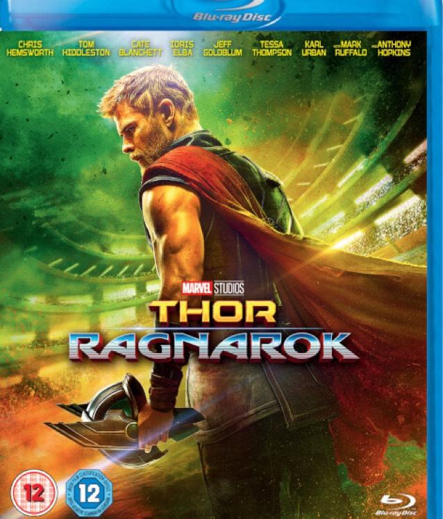 Thor Ragnarok Blu Ray £9.99 @ Zavvi