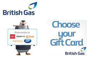 £10 Voucher for British Gas Customers (Account Specific)