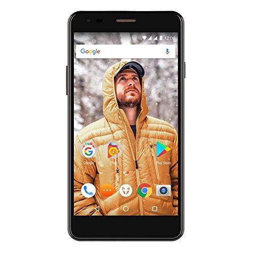 Wileyfox Spark X 5.5 Inch HD SIM-Free Smartphone with Android Nougat 7.0 (3000 mAh, 16 GB, 2 GB RAM, Dual SIM 4G) - Black - was £126.37 now £66.98 @ Amazon