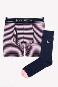 Jack Wills 66% Off Sock and Boxer Gift Set £9.95 - Free c&c