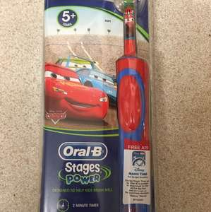 Oral-B Stages power kids electric toothbrush £10 @ Boots instore