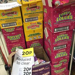 Bags of Swizzlels sweets, lollies etc 20p @ Tesco INSTORE (Port Glasgow)