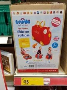 Trunki Suitcase *instore Morrisons * for £15 - Spalding lincs