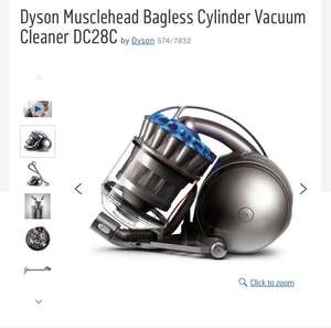 Dyson Musclehead Bagless Cylinder Vacuum Cleaner DC28C £149.99 @ Argos