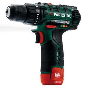 Parkside 12V Li-Ion Cordless Drill @lidl from the 14/01/18 Instore