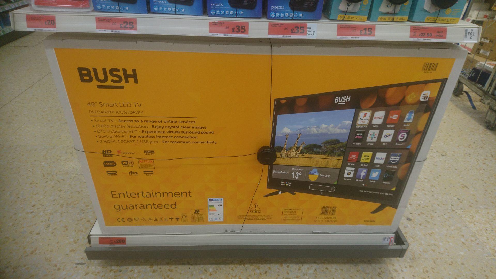 "Bush 48"" Smart LED TV £290 instore @ Sainsbury's Bradford"