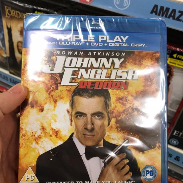Johnny English Reborn Blu Ray £1 instore @ Poundland