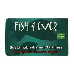 Fish 4 Ever Sardine Fillets In Org Tomato Sauce 120g (Pack of 10) - £2.25 @ Amazon Pantry (Prime Exclusive)